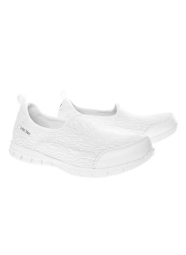 John May Ayakkabı Beyaz